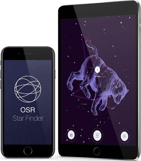 Aplicación OSR Star Finder