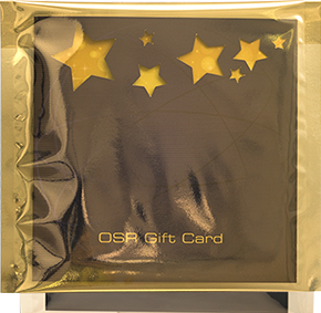 Elegant gift card wrapping
