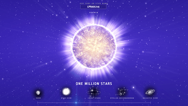 Name a Star | Buy a Star Gift | Online Star Register