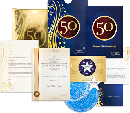 Buy a Star - 50th Birthday Gift