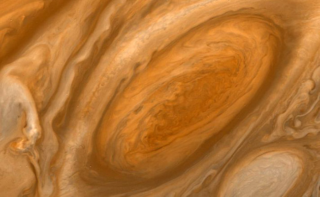 Jupiters Red Spot Close-up