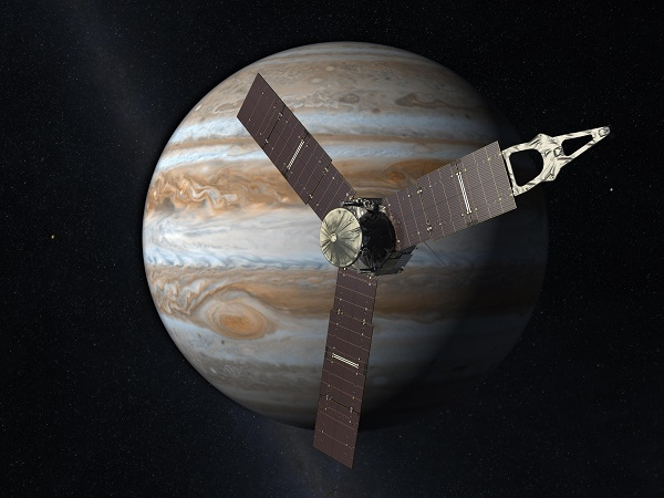 Photo Credit: Juno Space Craft Wikipedia Commons.