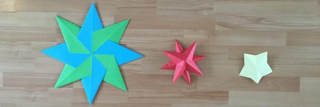 sterren vouwen