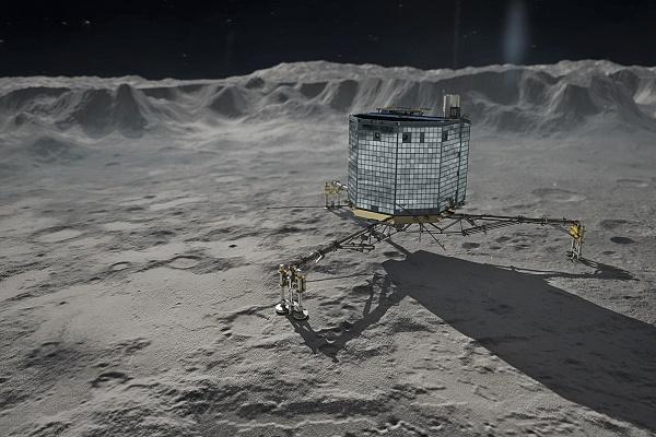 Rosetta's Philae on Comet 67P