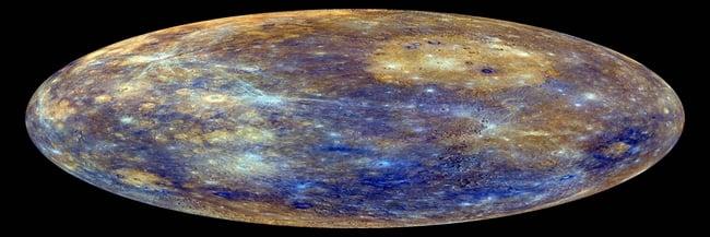 mercurio blu