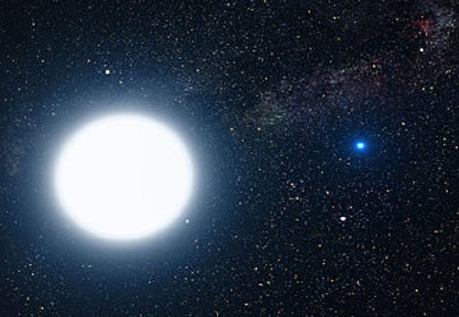 Artist's rendition of Sirius.