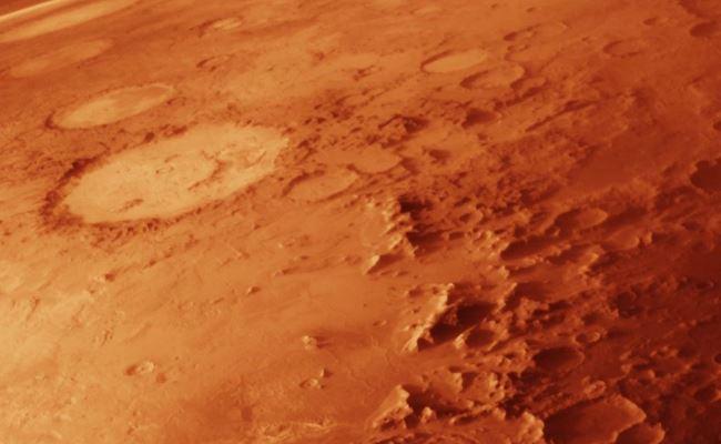Oppervlakte Mars