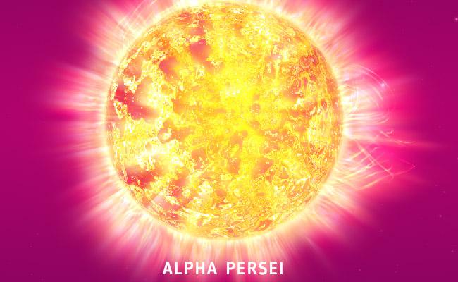 Alpha Persei Star
