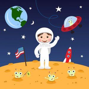 Astronomie voor kinderen
