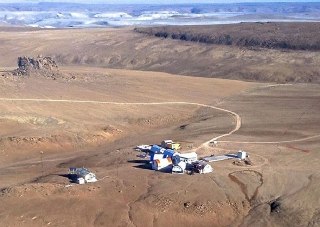The Haughton-Mars Project Research Station on Devon Island. Photo Credit: NASA
