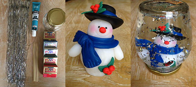 Christmas Bouli Snow Globe