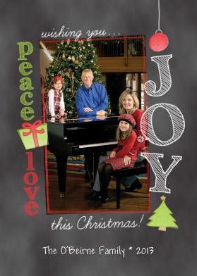 Christmas Card Photo Template