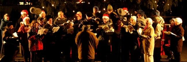 kerstliedjes zingen