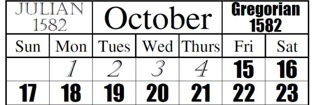gregoriaanse kalender