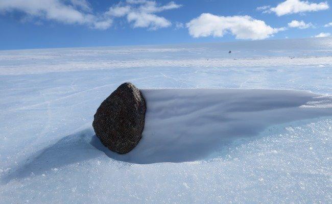 Meteorieten op de Zuidpool
