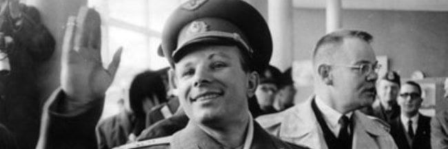 Joeri Gagarin, de eerste mens in de Ruimte