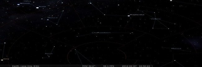 Constellation du Chamaeleon