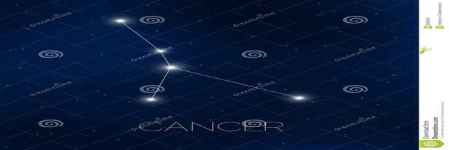 constellation du cancer