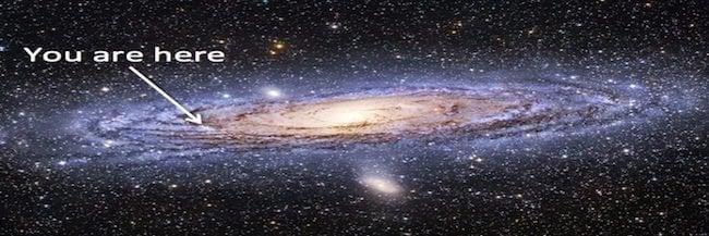 ผลการค้นหารูปภาพสำหรับ we are here galaxy