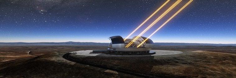 telescopio como mirar