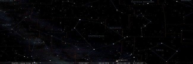 Constelación La Serpiente