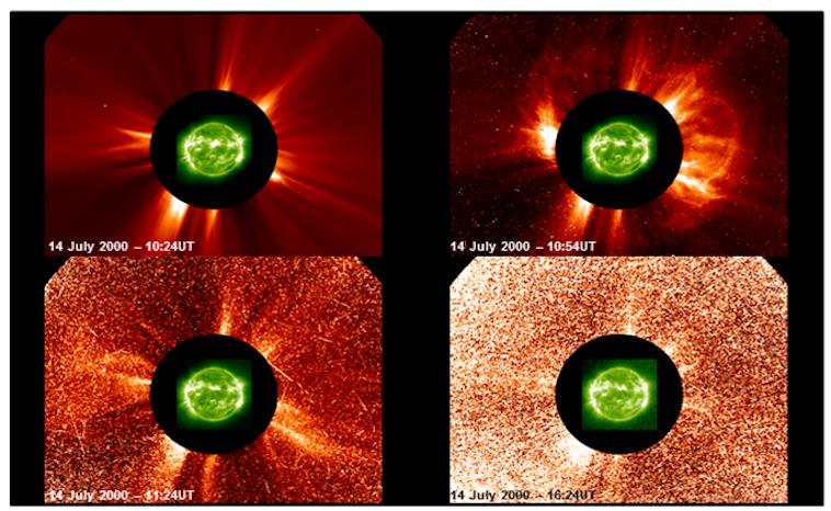 Proton Solar Flare