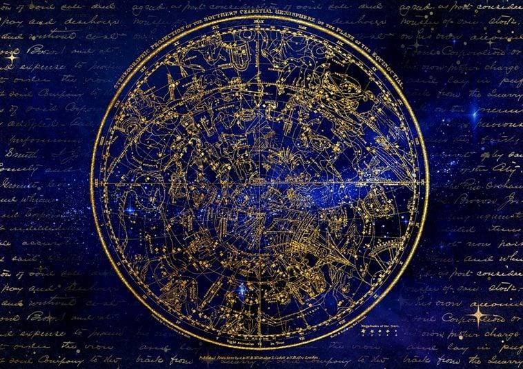 별자리 지도