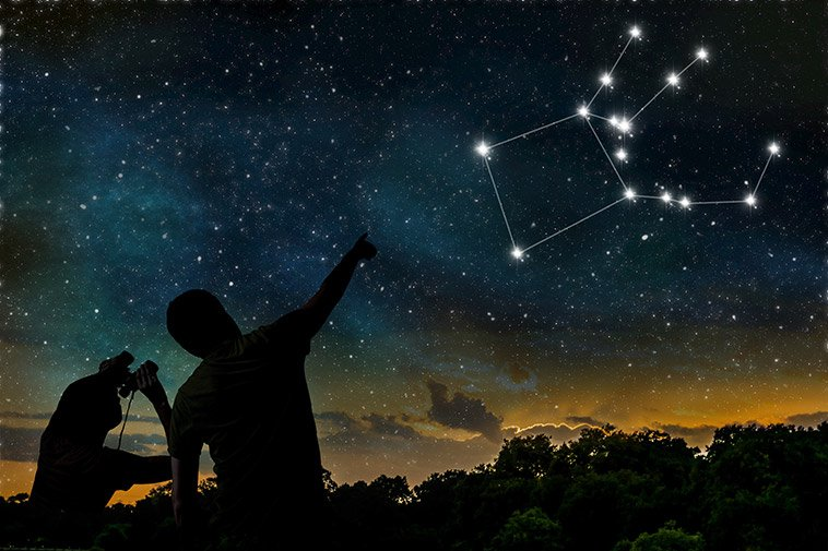 Sterrenbeelden en constellaties
