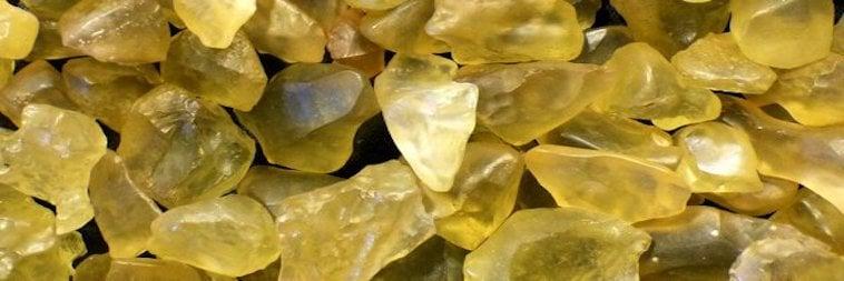 Egyptian Yellow Glass