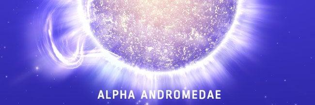 alpha andromedae