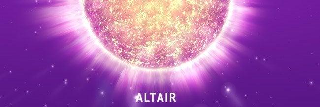Altair - bekende sterren