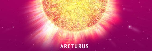 arcturus - bekende sterren