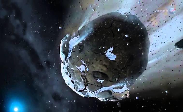 Phaethon Asteroid