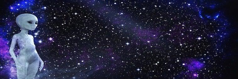 Seltsame Weltraumbegegnung