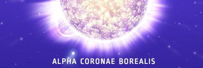alpha coronae borealis - bekende sterren