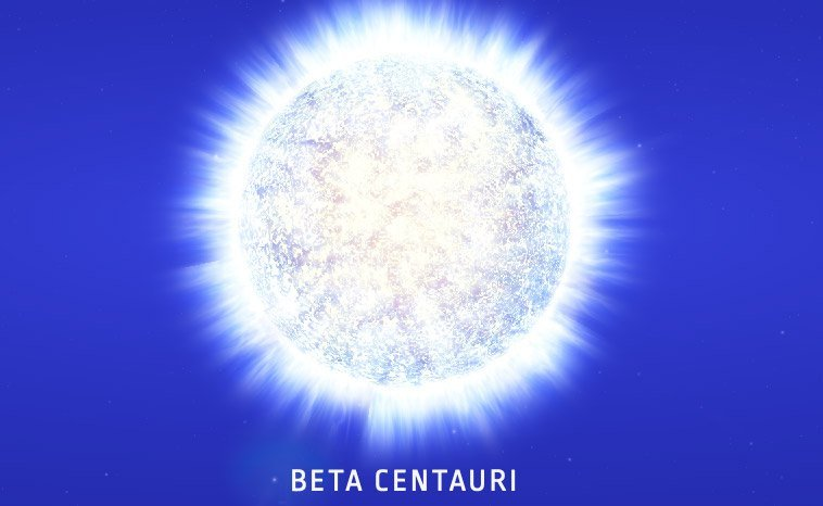Beta Centauri Star