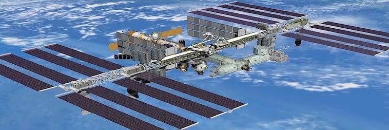 Elektrizität - Strom für die ISS
