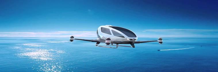 Urban Air Mobility - Flugdrohne