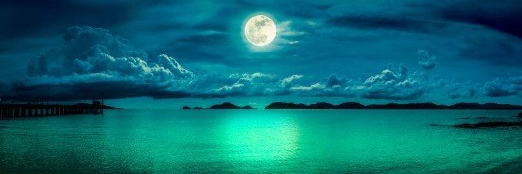 kleuren van de maan