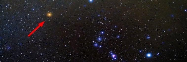 Licht der Betelgeuse