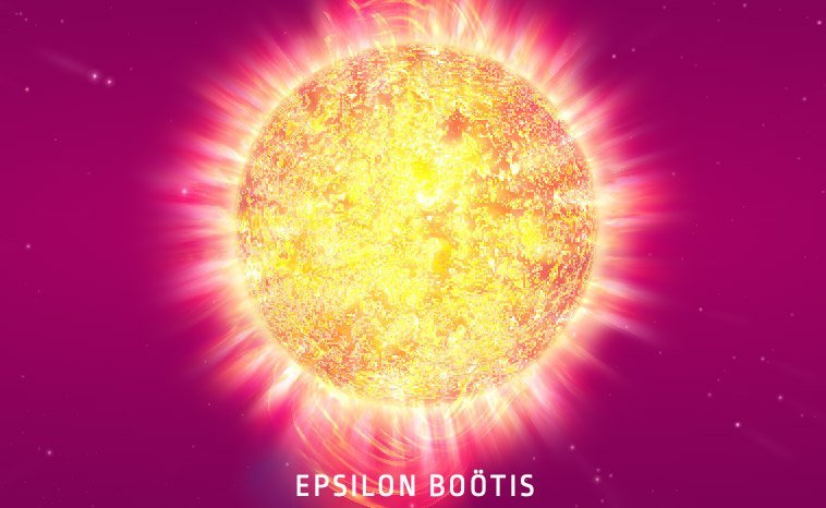 Epsilon Boötis - in 3D
