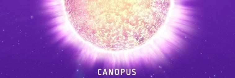 canopus-bekende sterren