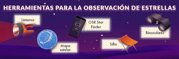 Tips para visualizar estrellas