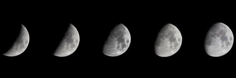 De nieuwe maan van augustus 2020