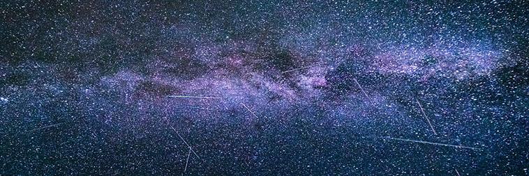 meteorieten regen van augustus 2020