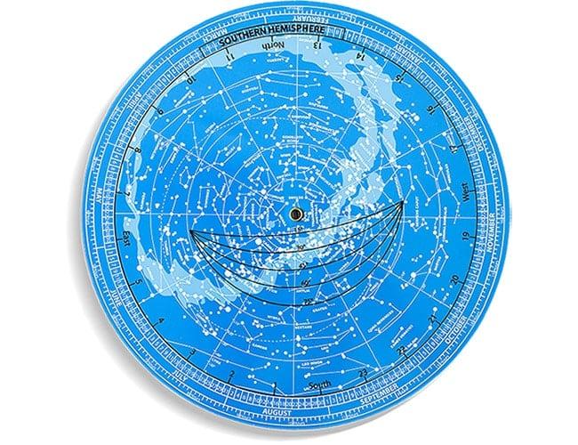 revolving star chart