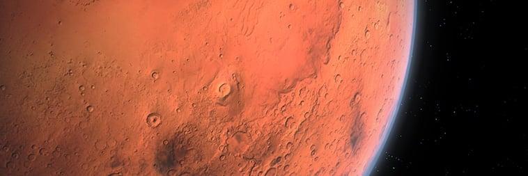 trouwen op Mars