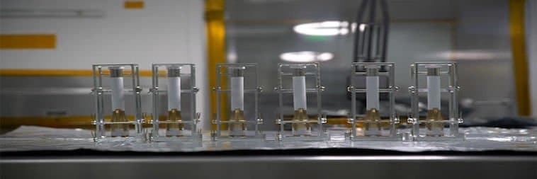 Perseverance Sample Tubes