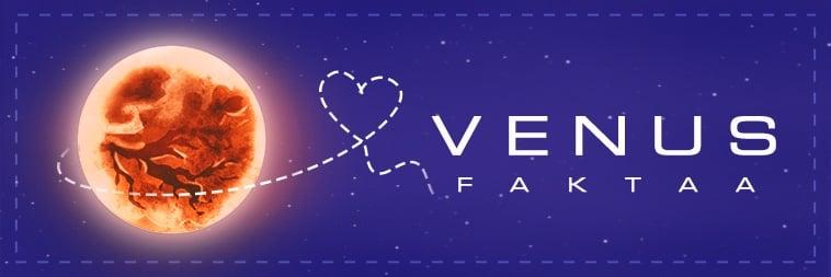Faktoja Venus-planeetasta