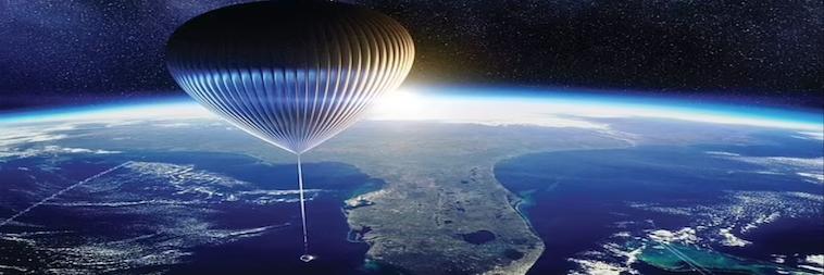 balloon spaceship